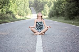 Clear your mind in yoga
