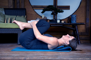 Chronically Kind Yoga yin yoga pose