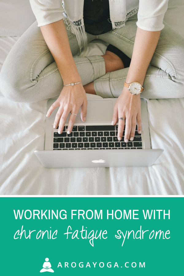 Working from home with chronic fatigue syndrome