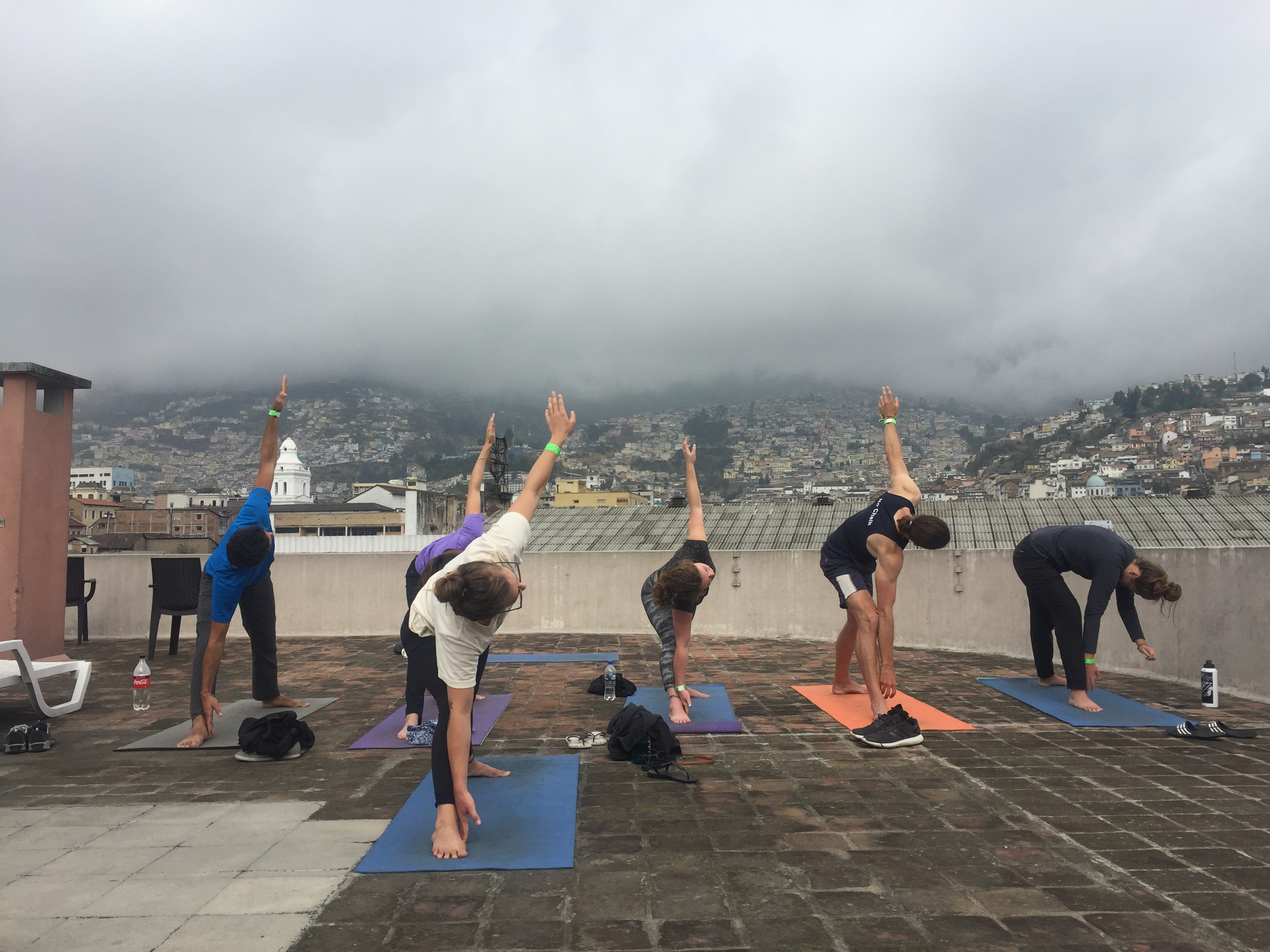 A day in the life of a nomadic yoga teacher