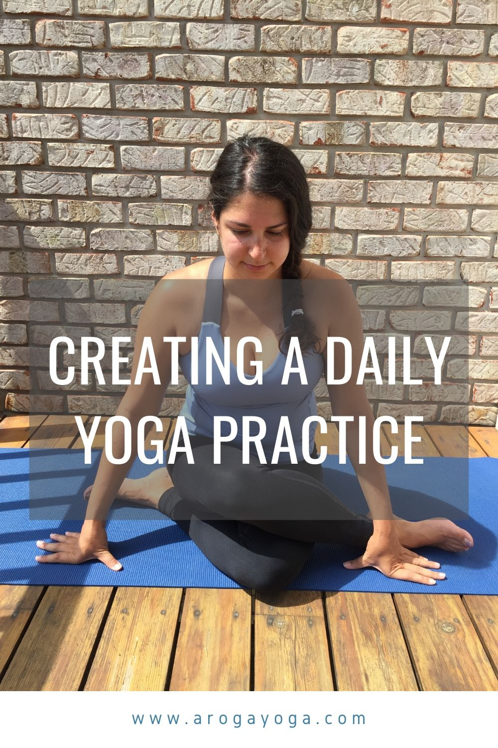 daily yoga practice pinterest