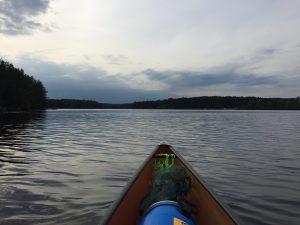 solo canoe trip