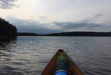 Paddling my own canoe (literally!)
