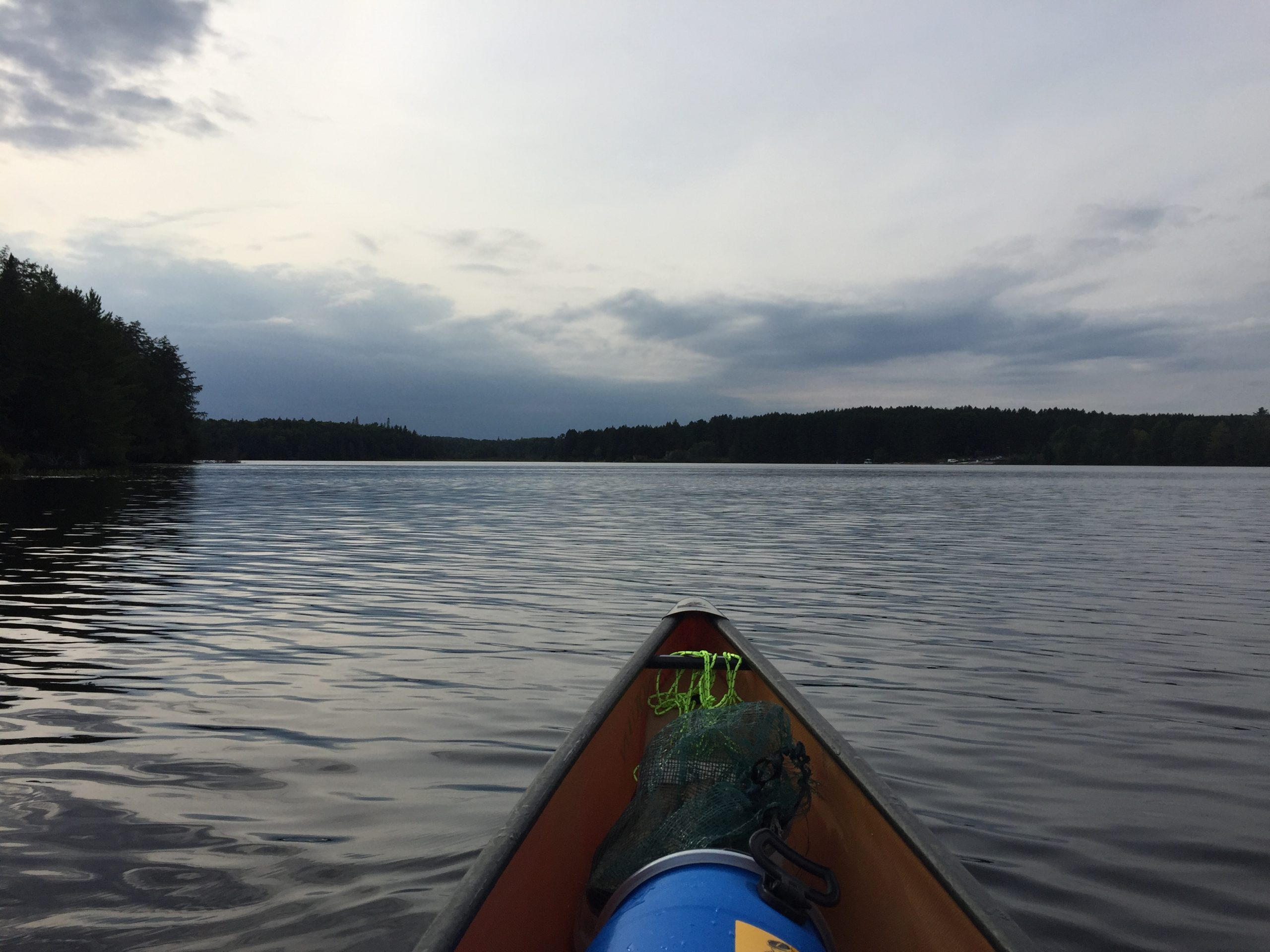 Paddling my own canoe (literally!)