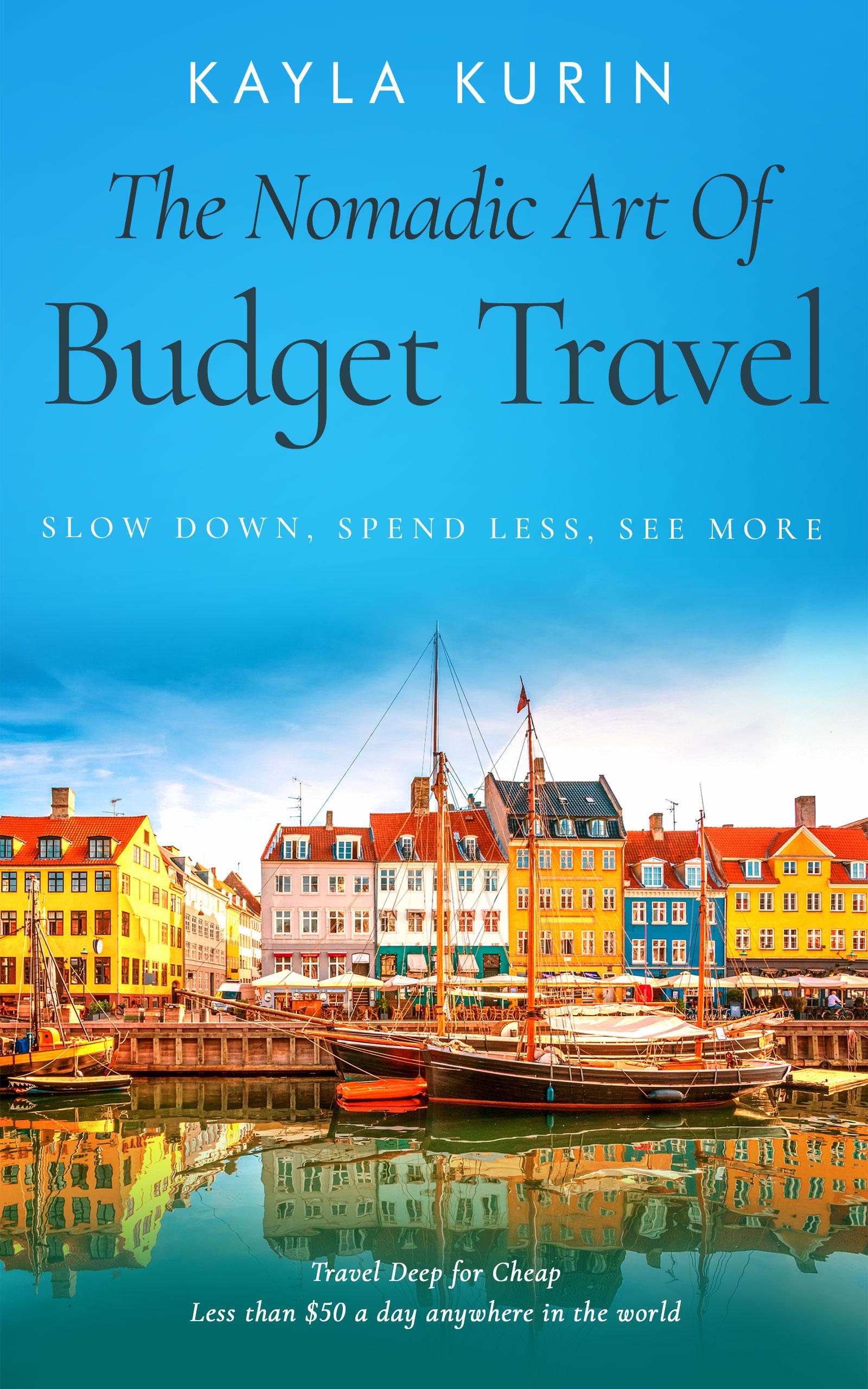 budget travel books